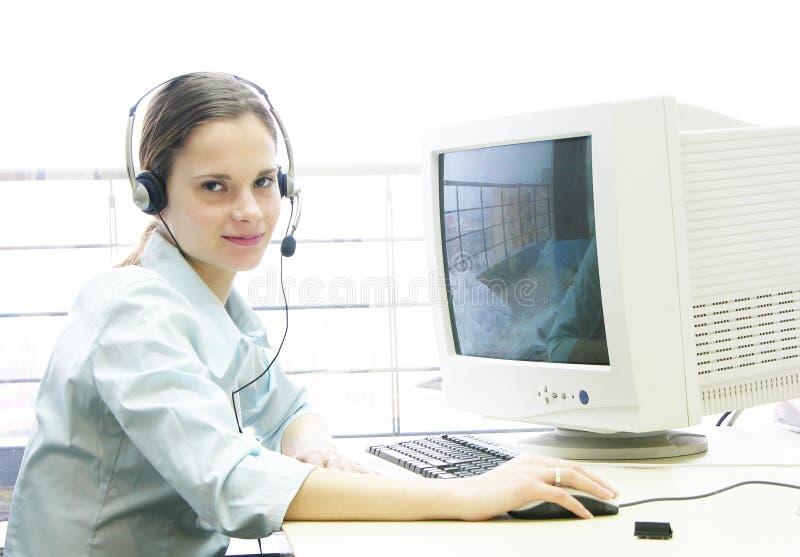 komputerowa 2 pracy obraz stock