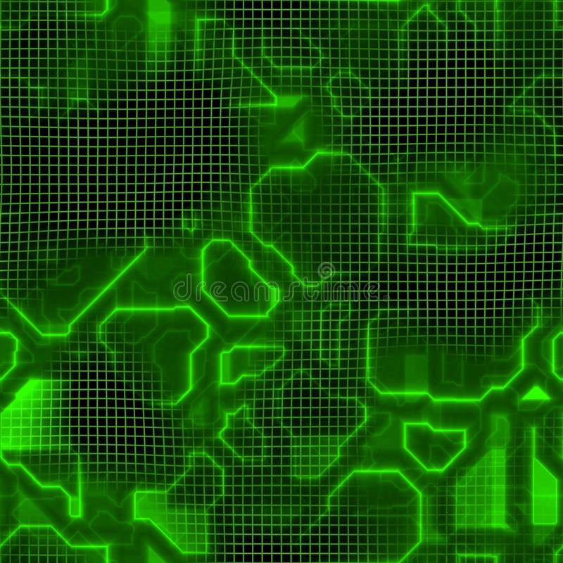 komputerowa circuitry tekstura ilustracja wektor