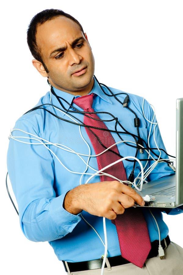 Komputerowa Frustracja zdjęcia stock