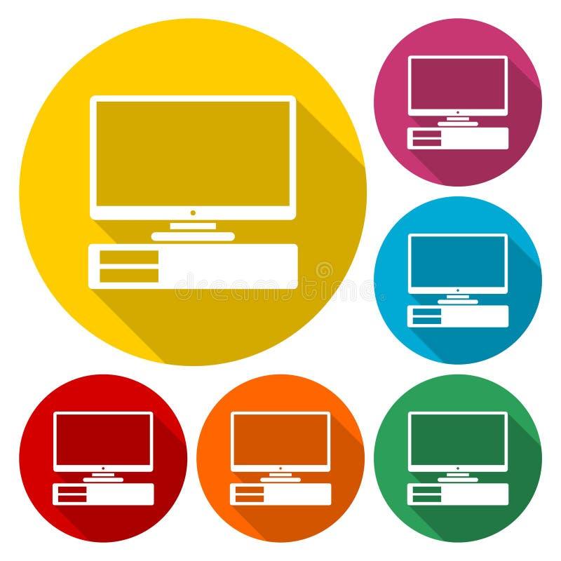 Komputerowa ikona ilustracja wektor