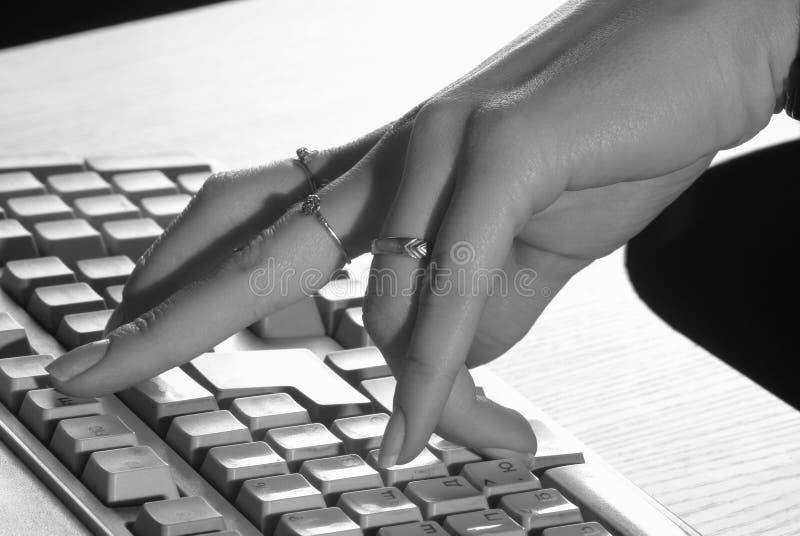 komputerowa klawiatura obrazy royalty free