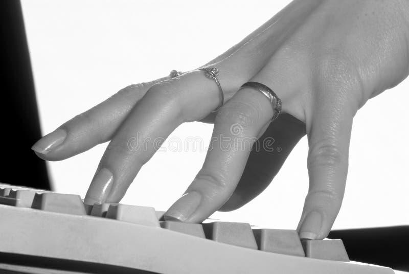 komputerowa klawiatura zdjęcie stock
