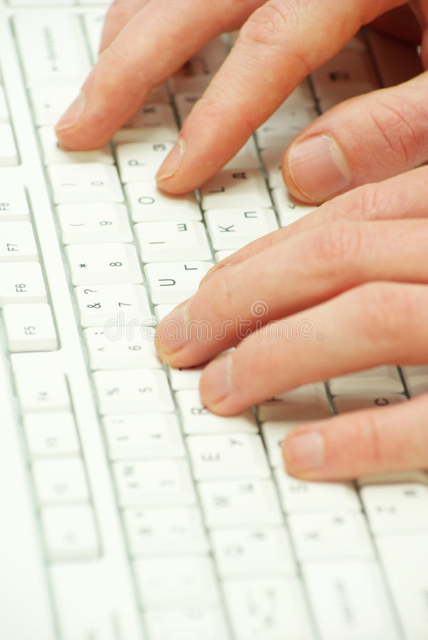 komputerowa klawiatura obraz stock