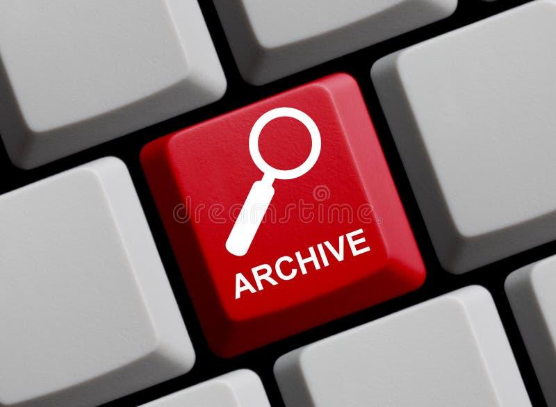 Komputerowa klawiatura: Archiwum online obraz stock