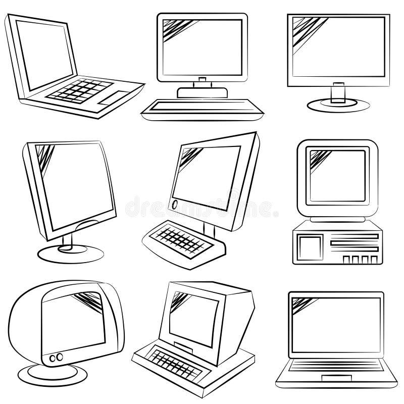 Komputerowa kolekcja ilustracji