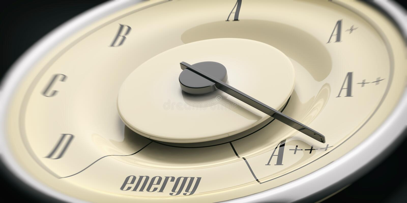 komputerowa pojęcia wydajności energia wytwarzający wizerunek Rocznika samochodowego wymiernika zbliżenia szczegół, czarny tło il zdjęcia royalty free