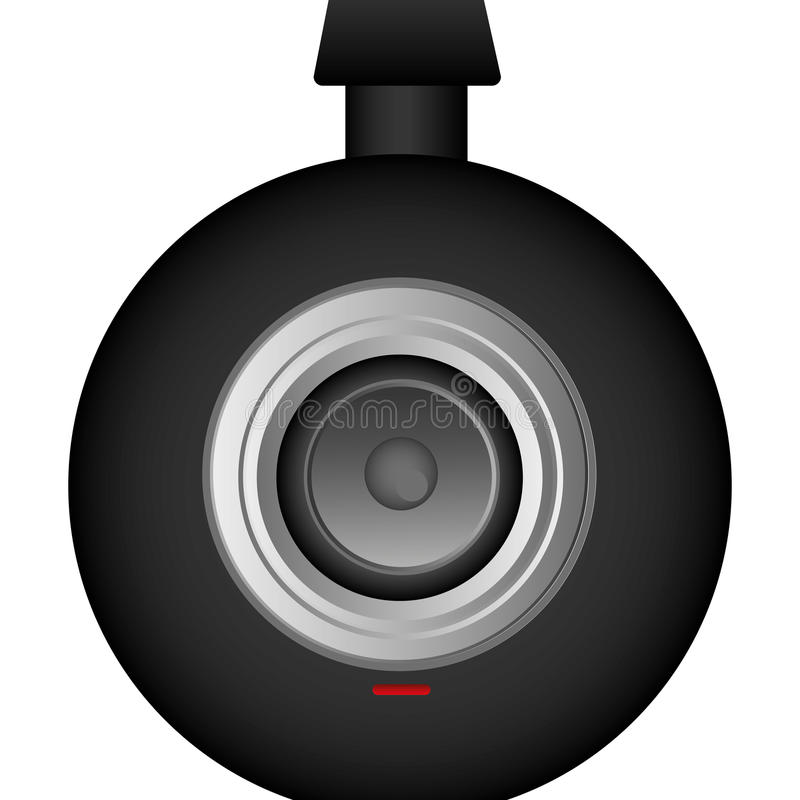 komputerowa technologiczna kamery ikona royalty ilustracja