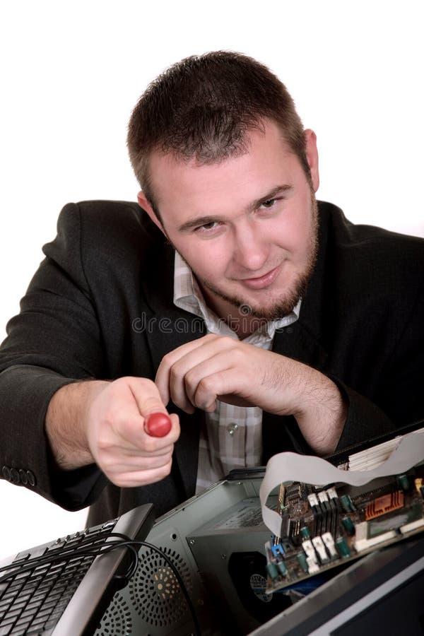 komputerowa usługa zdjęcia stock