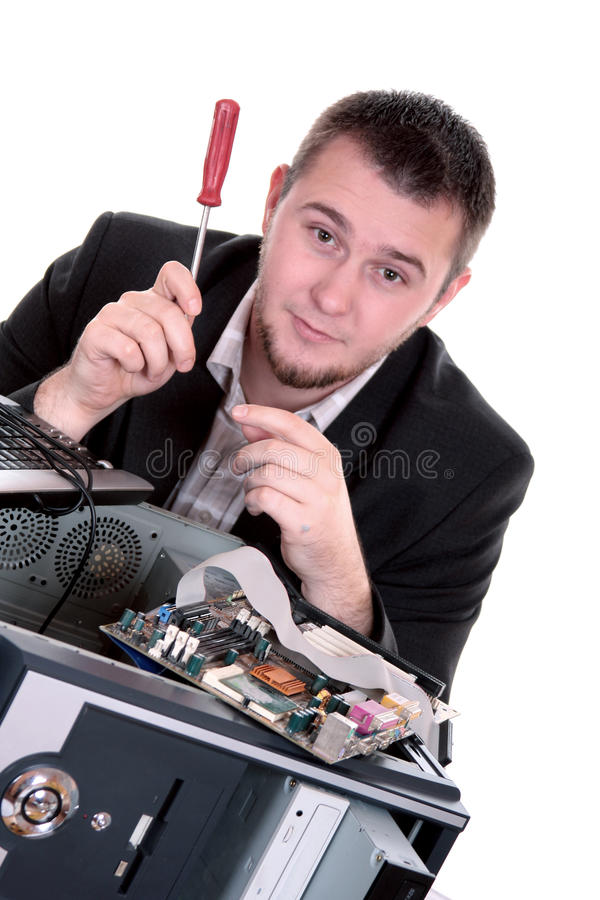 komputerowa usługa zdjęcia royalty free