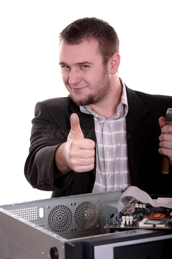 komputerowa usługa zdjęcie royalty free