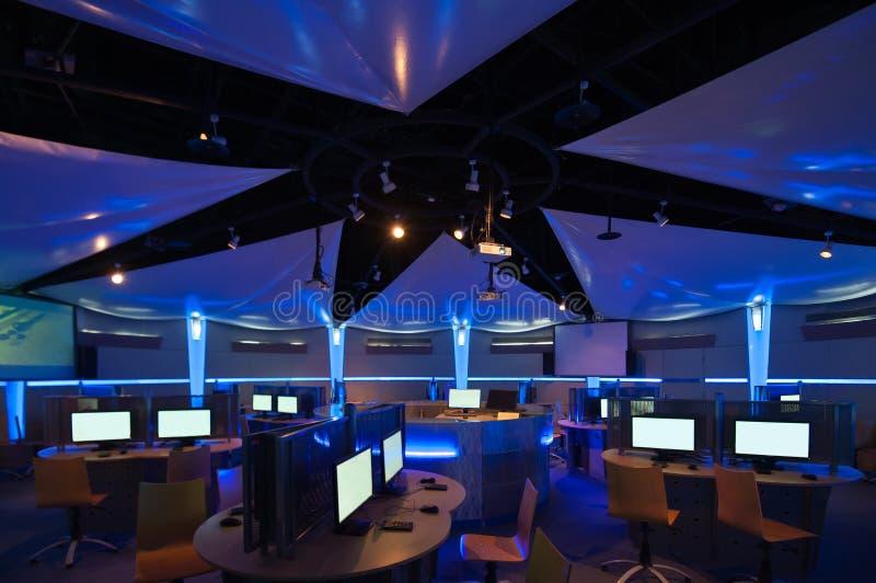 Komputerowego uczenie centrum zdjęcia royalty free