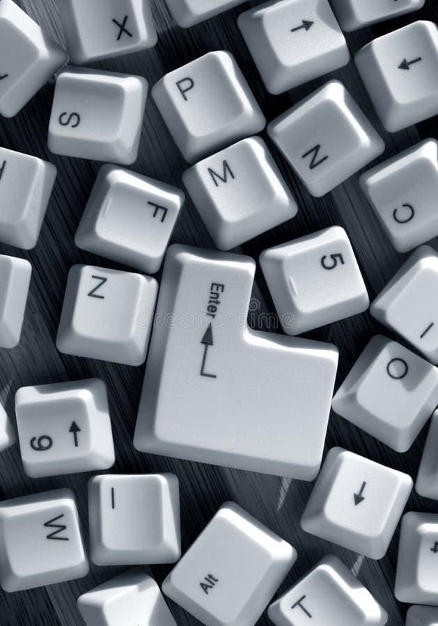 komputerowi klucze obraz royalty free