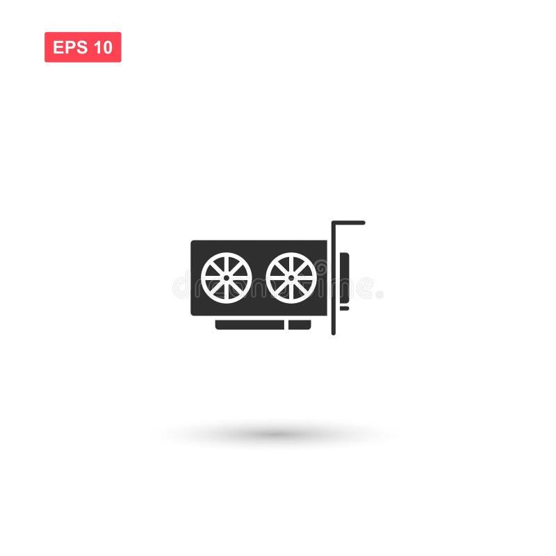 Komputerowy części narzędzia wektor odizolowywał 2 ilustracji