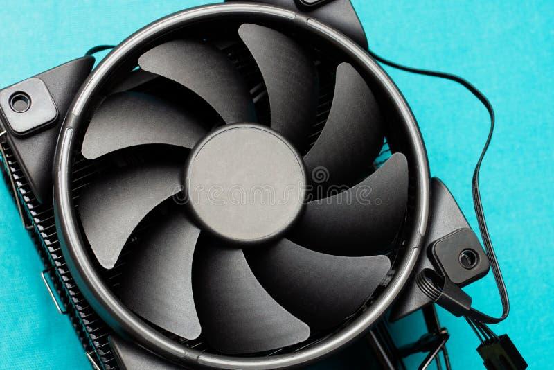 Komputerowy jednostki centralnej cooler zdjęcie royalty free