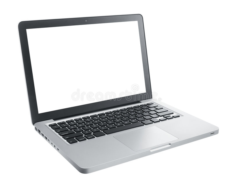 komputerowy laptop obrazy royalty free