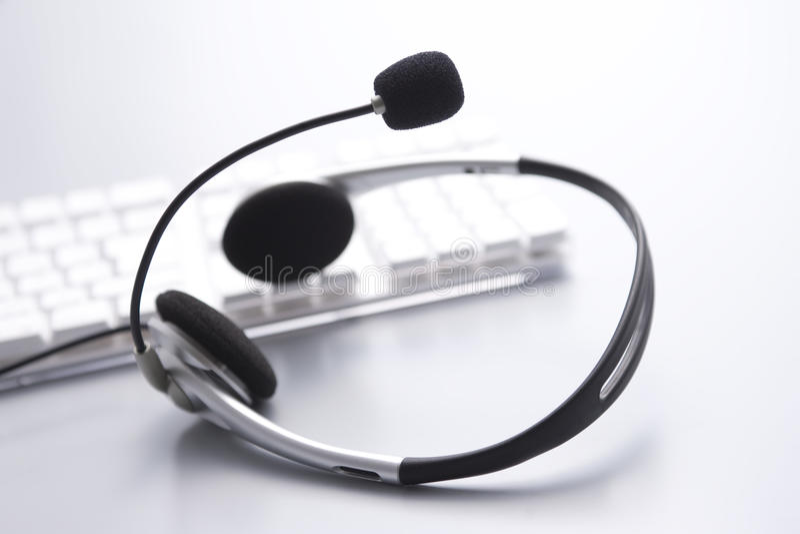 komputerowy mikrofon obraz royalty free