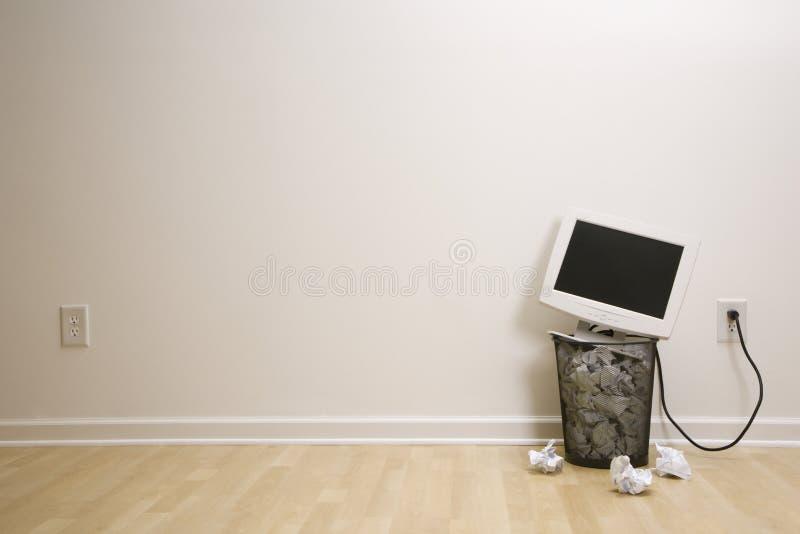 komputerowy może śmieci obrazy stock