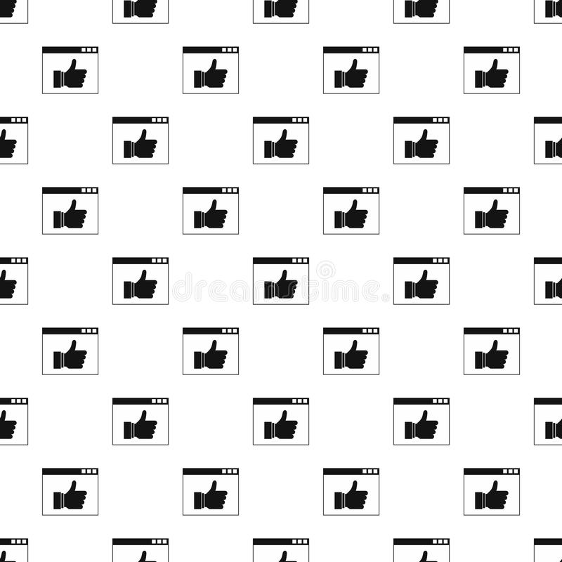 Komputerowy monitor jak z guzika wzorem ilustracji