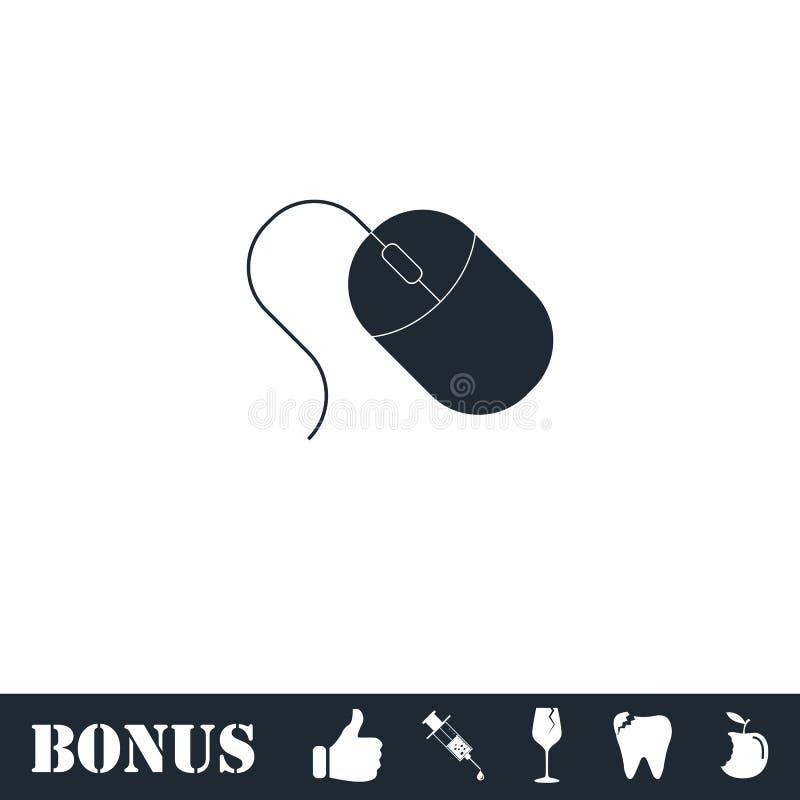 Komputerowy myszy ikony mieszkanie royalty ilustracja