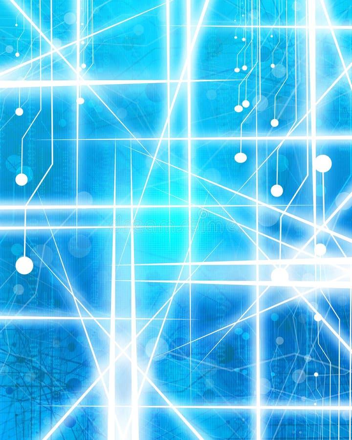 Komputerowy obwód ilustracja wektor