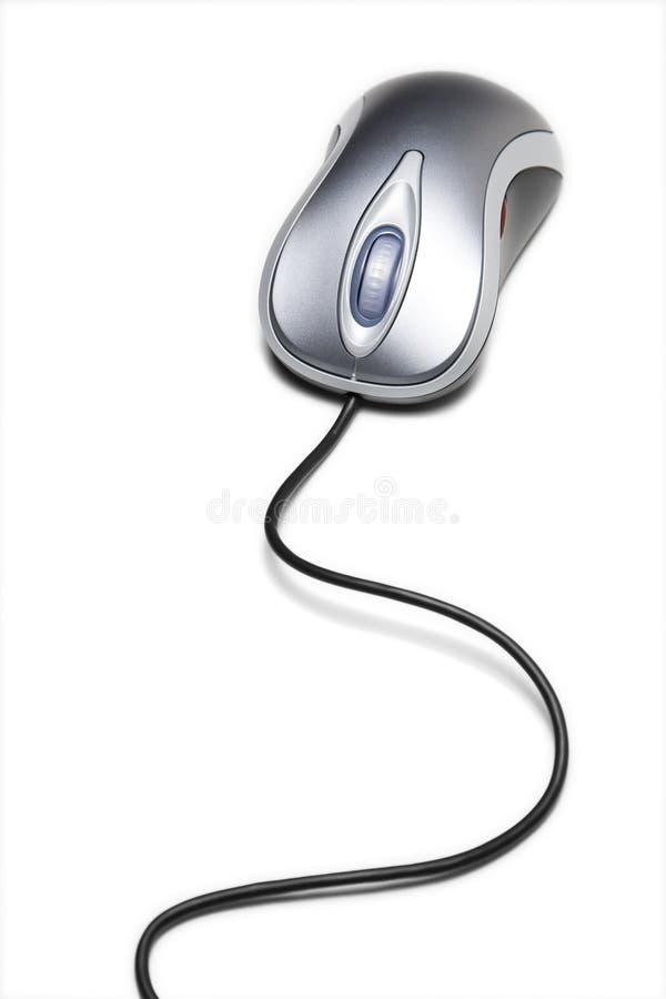komputerowy sznur tęsk mysz zdjęcie stock