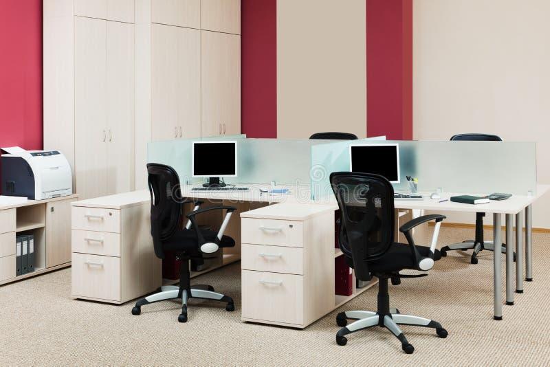 komputeru biurko obraz stock