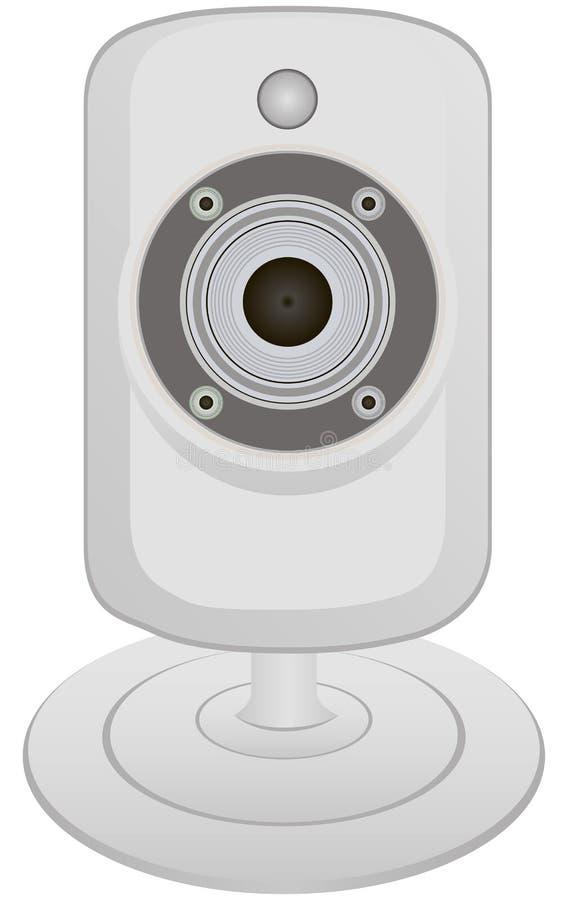 Komputeru kamera wideo royalty ilustracja