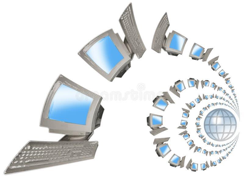 komputery. ilustracji