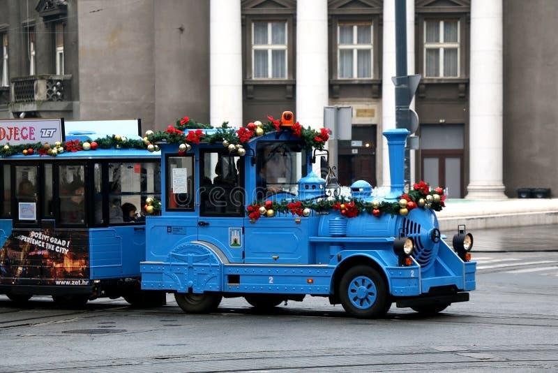Komst in Zagreb royalty-vrije stock afbeelding