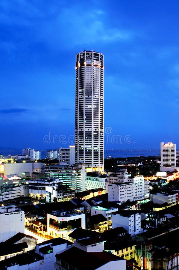 Free Komtar Tower Royalty Free Stock Photography - 27259137