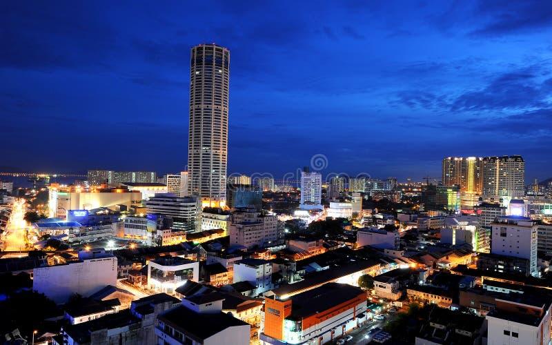 Komtar Tower Editorial Stock Photo