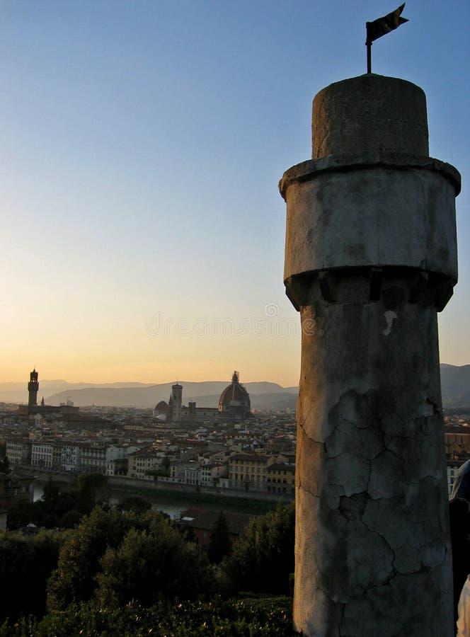 komunalne pejzaż Florence obrazy royalty free