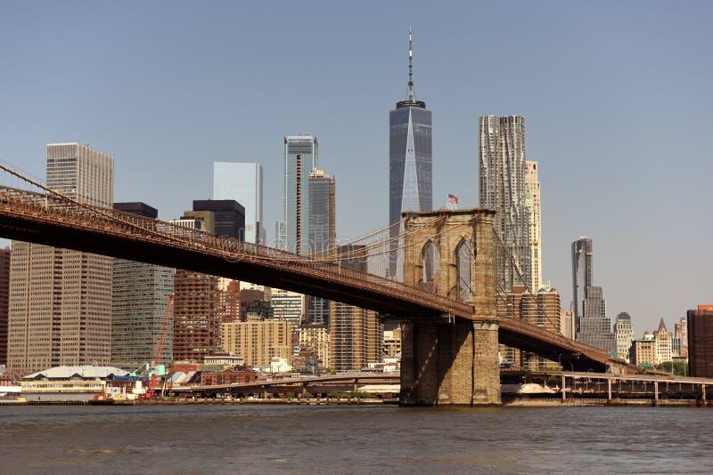 komunalne pejzaż, nowy jork Miasto Nowy Jork, pieniężny okręg w niskim M obraz royalty free