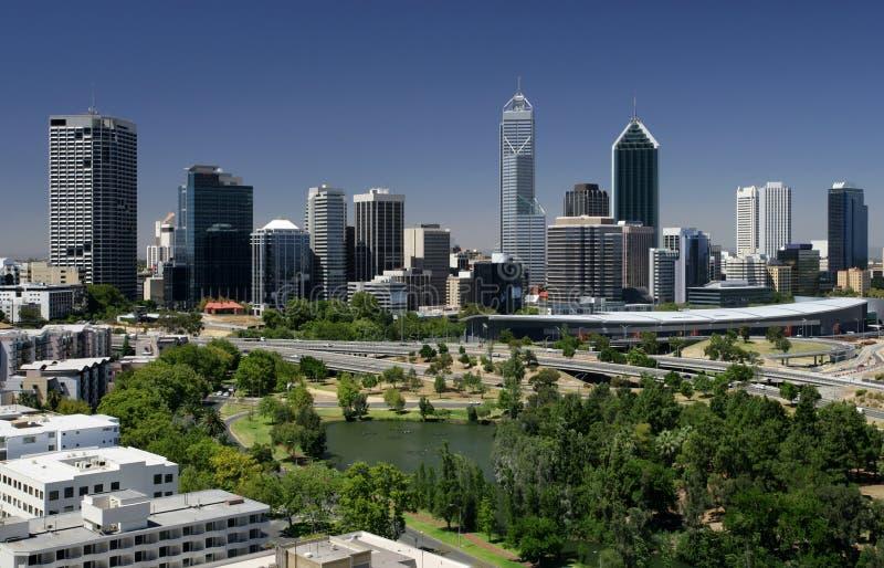 komunalne pejzaż Perth zdjęcia royalty free