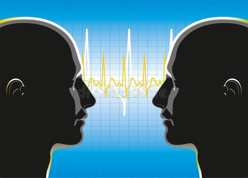 Download Komunikacja ilustracja wektor. Ilustracja złożonej z pacjent - 28957105