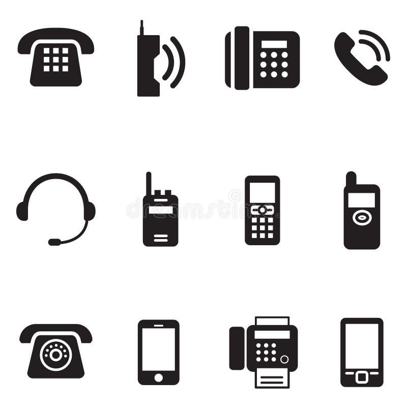Komunikacja, wezwanie, telefonu rocznik, retro telefoniczny Wektorowy Illus ilustracja wektor