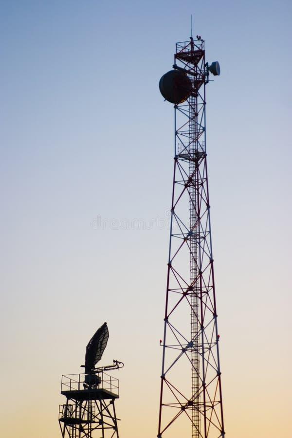 komunikacja wieże fotografia royalty free