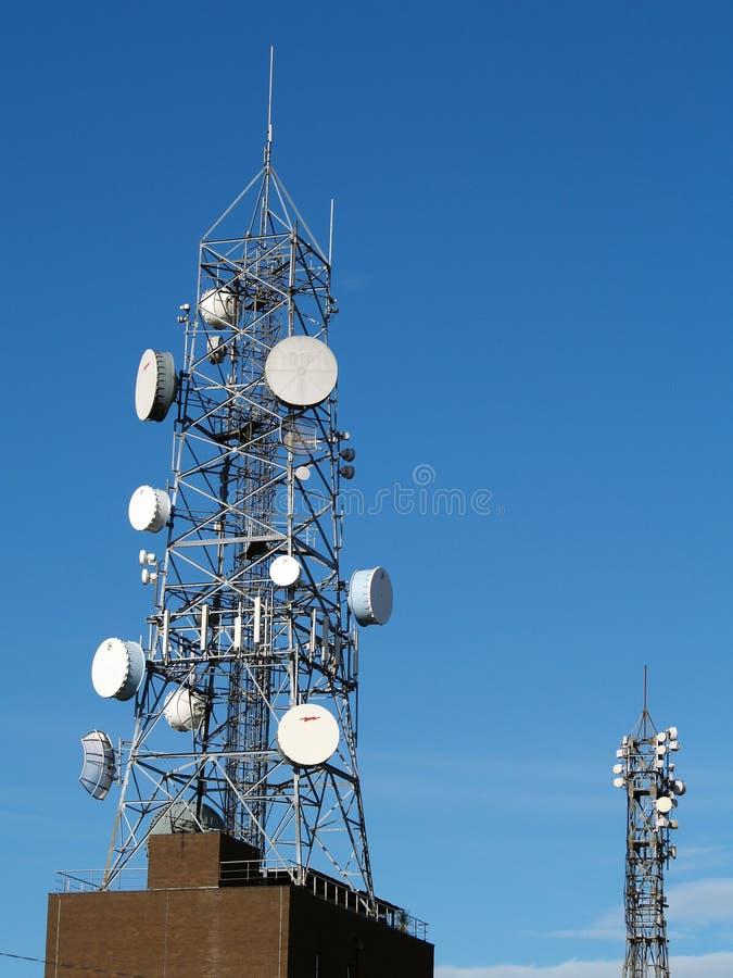 komunikacja wieży fotografia royalty free