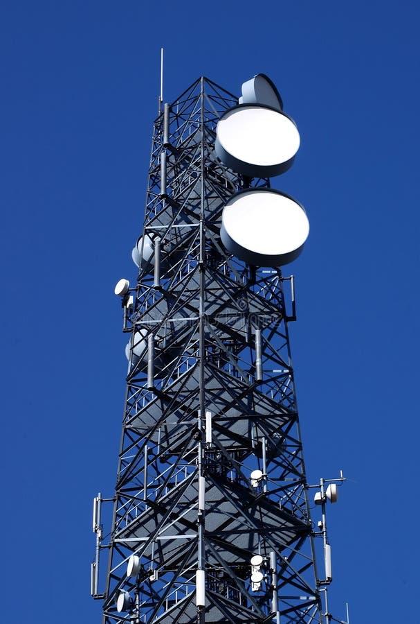 komunikacja wieży fotografia stock