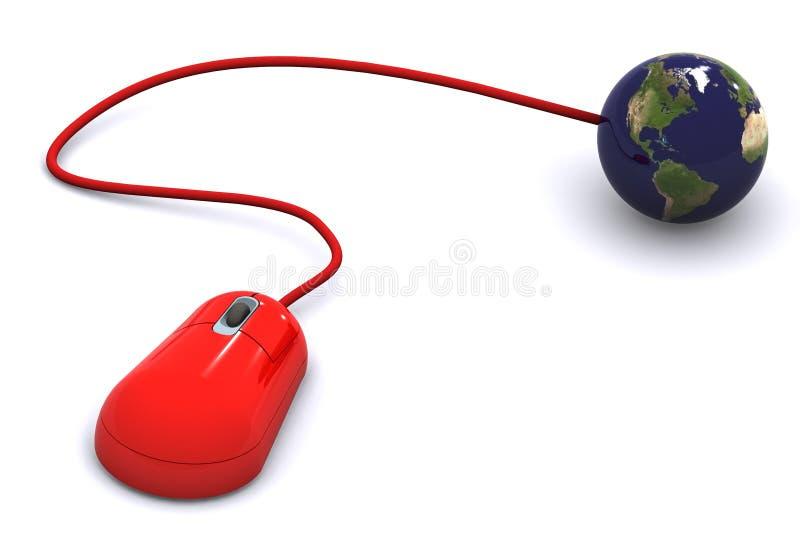 komunikacje globalne ilustracja wektor