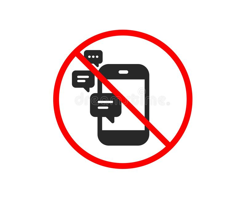 Komunikacyjna ikona Smartphone gadki znak wektor ilustracja wektor