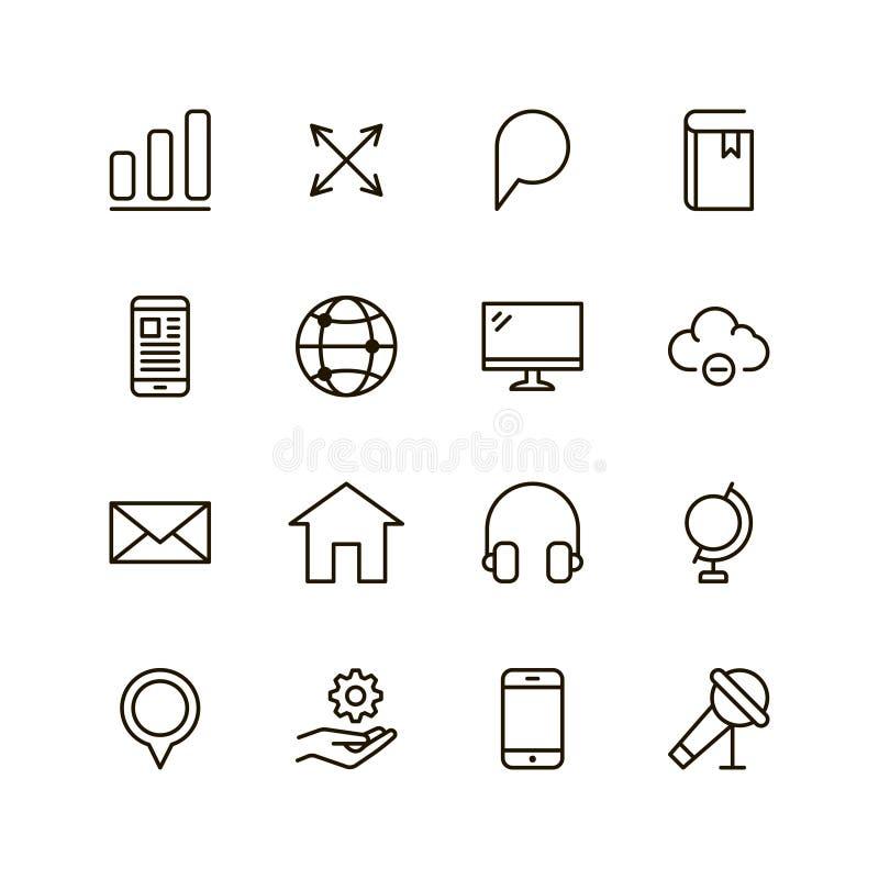 Komunikacyjna płaska ikona ilustracja wektor