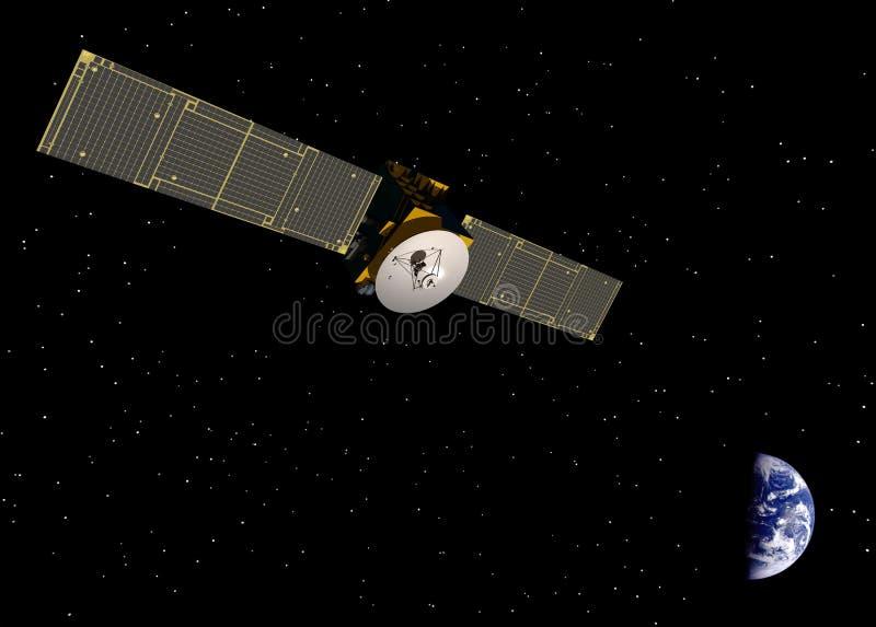 komunikacyjna satelita zdjęcia stock