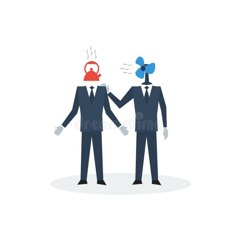 Komunikacyjne biznesowe umiejętności royalty ilustracja