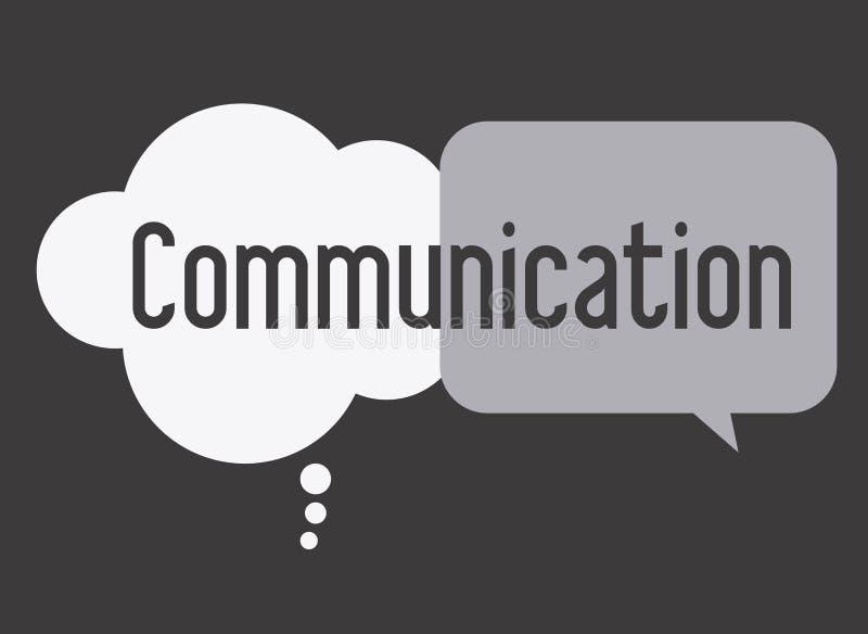 Komunikuje, desing, illusttration royalty ilustracja