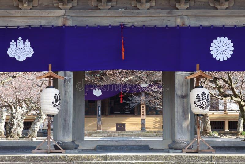 Komyo ji tempel royalty-vrije stock afbeelding