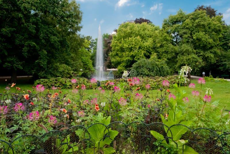 Kon Astridpark, Bruges fotos de stock