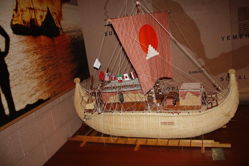Kon-Tiki expeditionmuseum royaltyfri foto