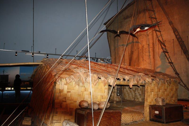 Kon-Tiki expeditionmuseum royaltyfri bild