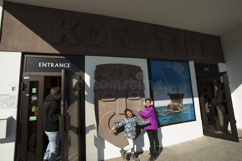 Kon-Tiki Museum fotografía de archivo libre de regalías